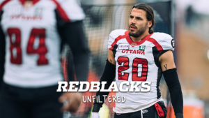 REDBLACKS Unfiltered Episode 2 – JP Bolduc: Substitute teacher by day, football player by night
