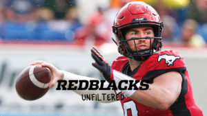REDBLACKS Unfiltered Episode 1 – Nick Arbuckle: From lineman to CFL starting QB