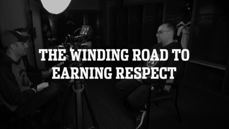 The Winding Road to Earning Respect