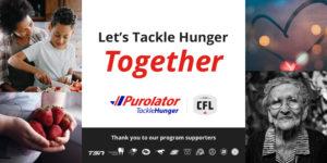 Let's #TackleHunger Together