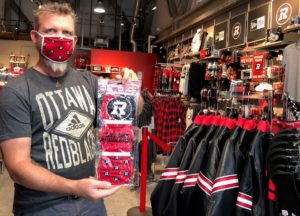 REDBLACKS Face Masks Now Available