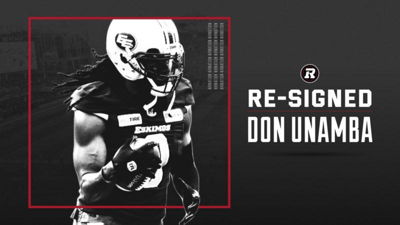 REDBLACKS bring back linebacker Don Unamba