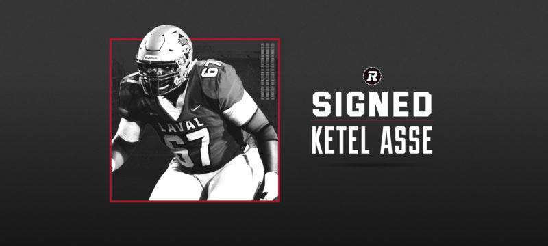 REDBLACKS sign offensive lineman Ketel Asse