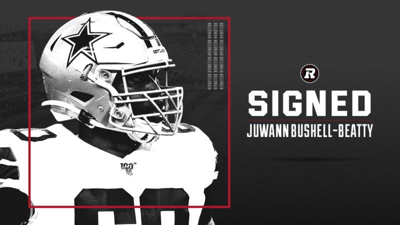 REDBLACKS sign American offensive lineman Juwann Bushell-Beatty