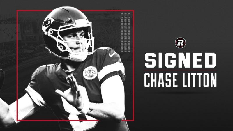 REDBLACKS sign American QB Chase Litton