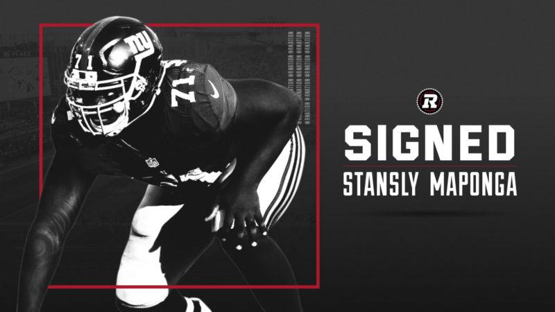 REDBLACKS sign veteran defensive lineman Stansly Maponga