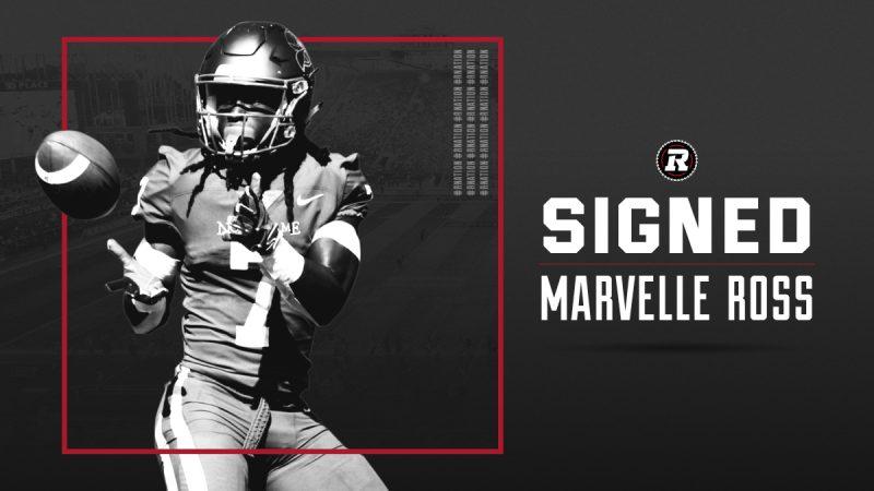 REDBLACKS sign American wide receiver Marvelle Ross