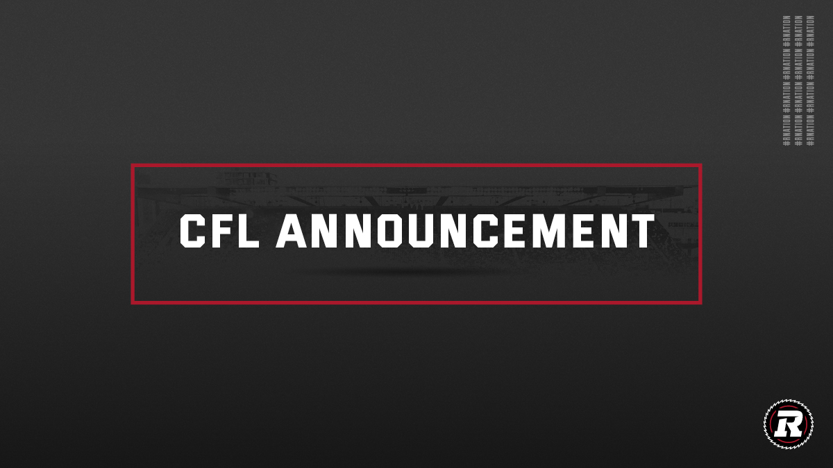 Canadian Football League Announces Plans to Return-to-Play for 2021 Season