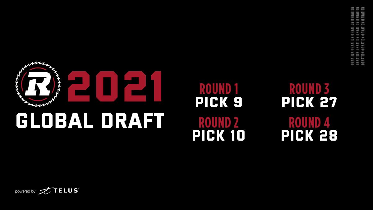 2021 CFL Global Draft