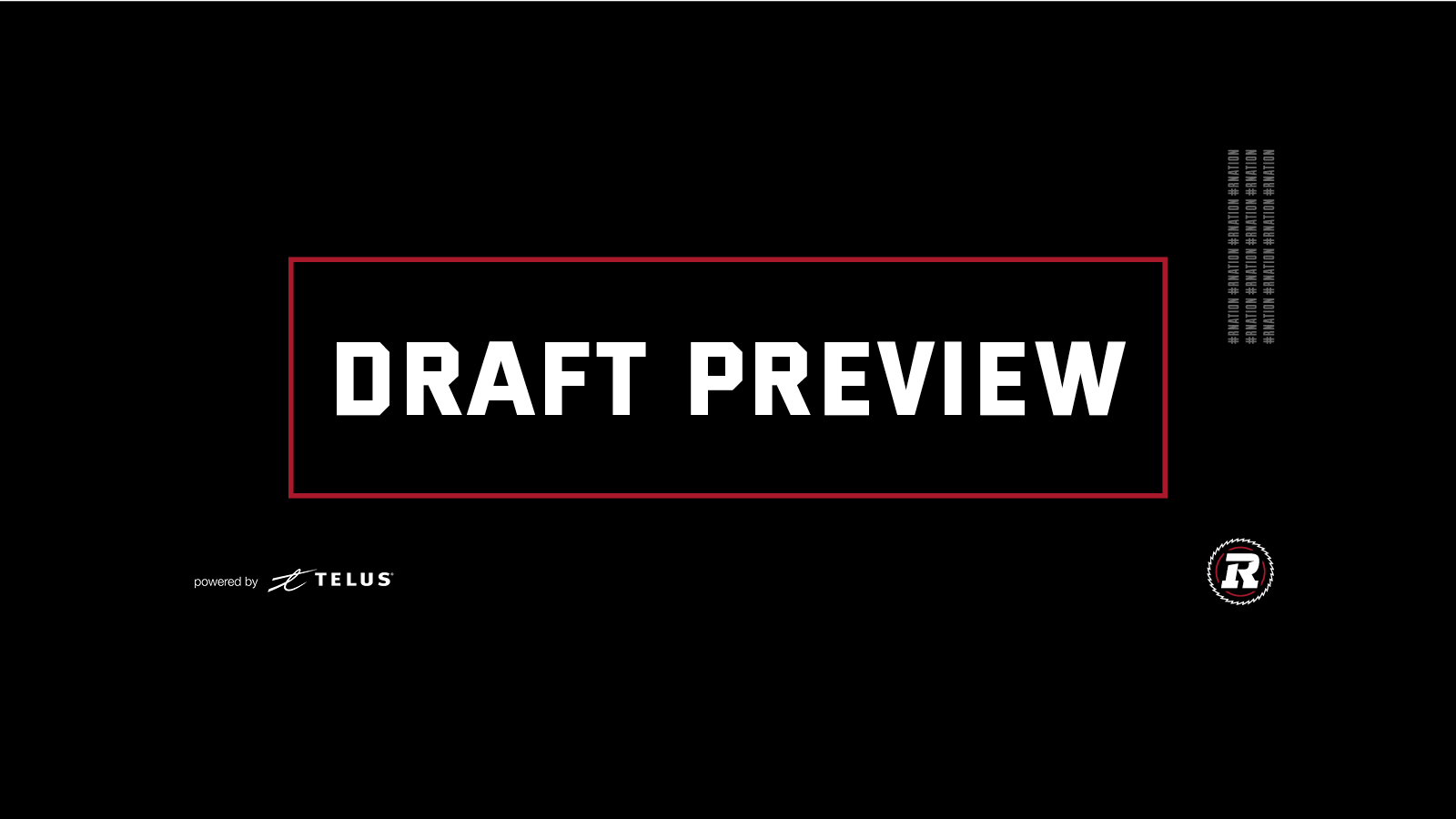 Ottawa REDBLACKS set to pick 6th overall in Tuesday's CFL Draft