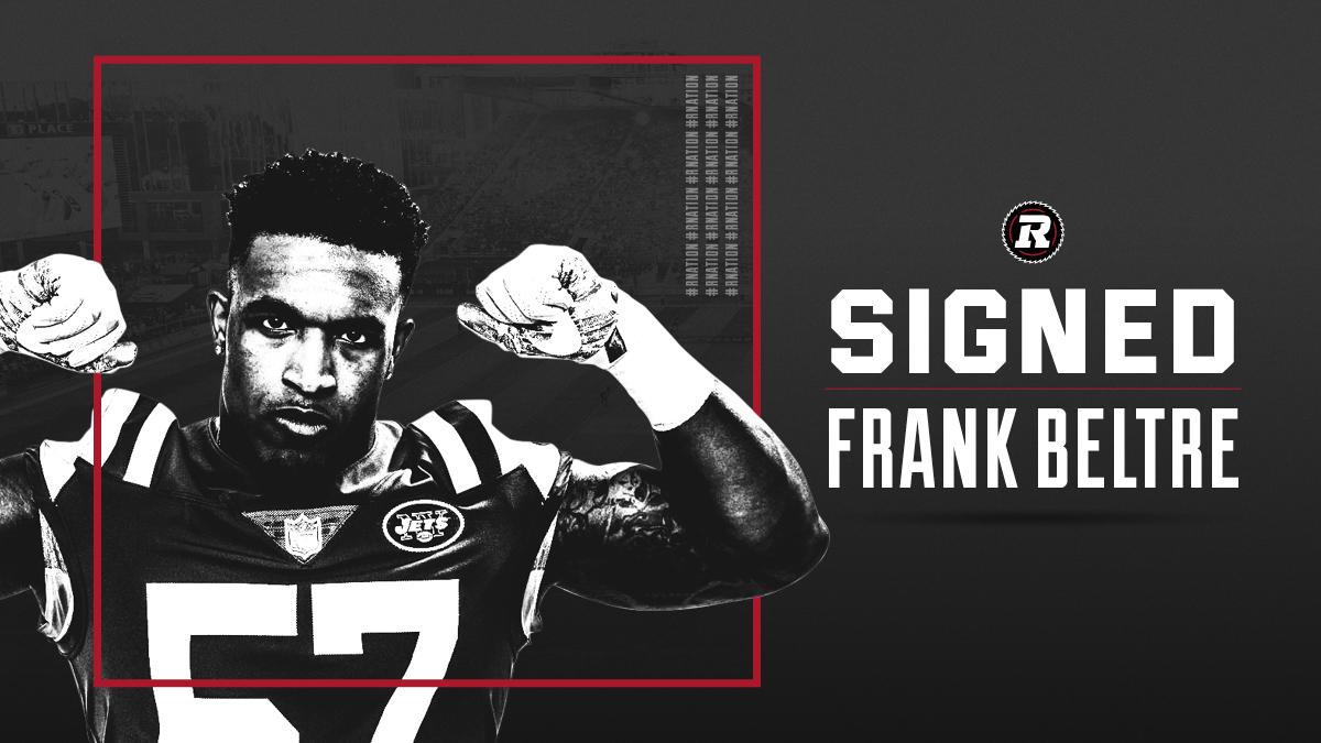 REDBLACKS sign American DL Frank Beltre