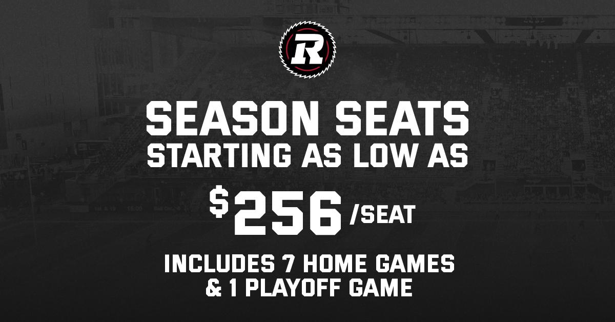 Season Seats 256/ seat banner