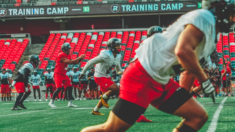 DAY EIGHT: News and notes from Day 8 of Ottawa RedBlacks Training Camp