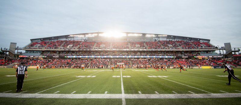 BC Lions vs Ottawa REDBLACKS  August 28, 2021  PHOTO: Andrea Cardin/Freestyle Photography